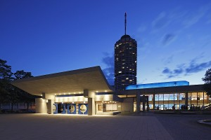 Augsburg - © Kongress am Park Nacht blau
