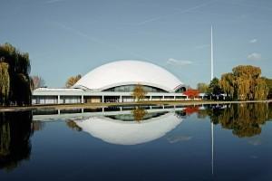 Aussenansicht Jahrhunderthalle Frankfurt