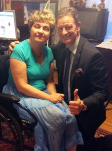 Michael Hull mit Margo Bogorad
