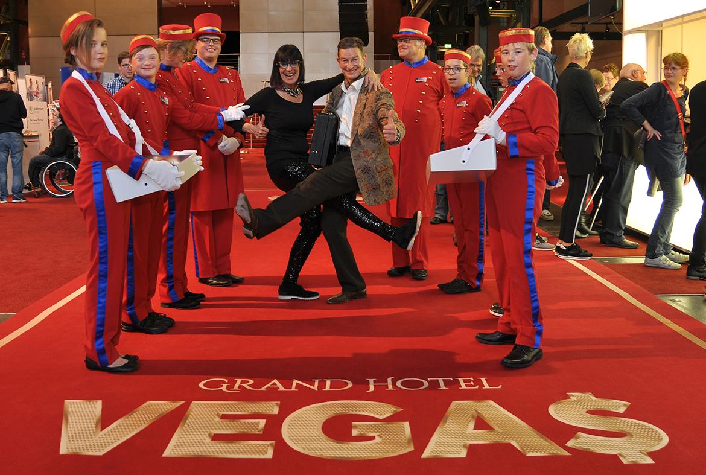 Premiere von Grand Hotel Vegas im Colosseum Theater, Essen