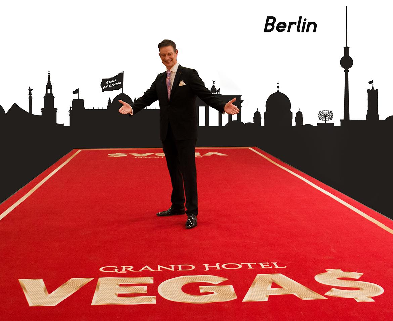 Von der Bühne ins Radio: Grand Hotel Vegas live aus Berlin